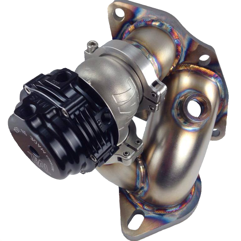 PUNISHMENT RACING TIAL MVS WASTEGATE + RECIRCULATED O2 HOUSING PACKAGE FOR ECLIPSE/TALON
