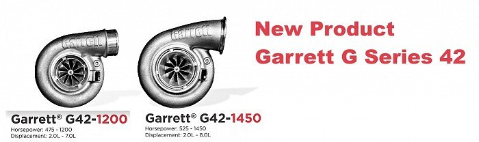 new garrett g42 turbo